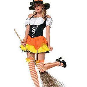 Leg Avenue Kandy Korn Witch Costume
